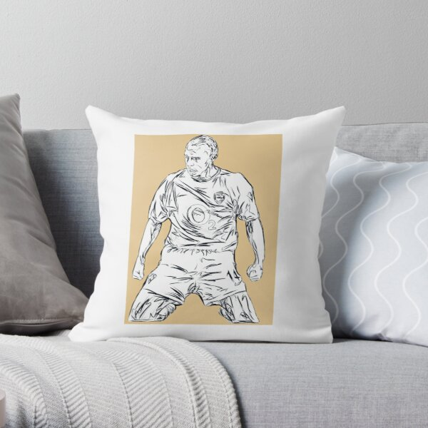 Gift Silver Grey Thierry Henry Cushion Pillow Cover Case
