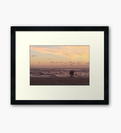 Surfers Evening Framed Print