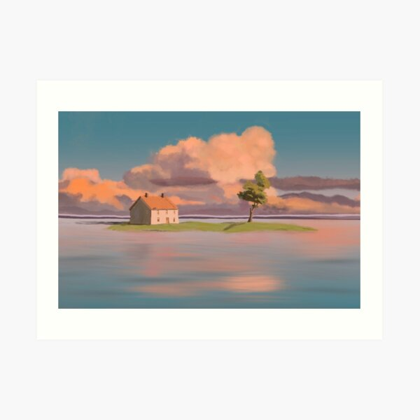 spirited away scene Art Print