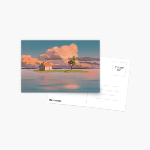 scène animée Carte postale