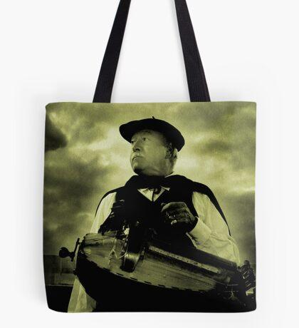 Hurdy Gurdy Player Tote Bag