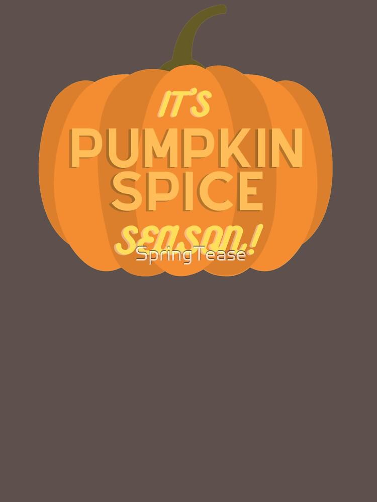 It's Pumpkin Spice Season by SpringTease