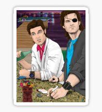 Jack Burton & Snake Plissken Sticker