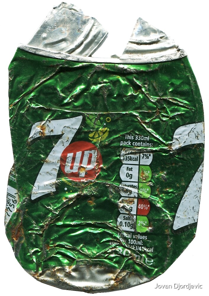7 Up - Crushed Tin by Jovan Djordjevic