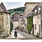 Cycling in France - in Daglan by Marlene Hielema