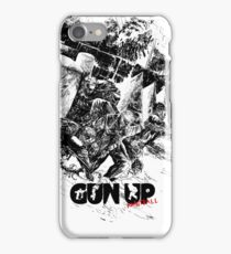 Gun Up Paintball Breakout Black/White iPhone Case/Skin