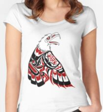 Eagle Human Women's Fitted Scoop T-Shirt