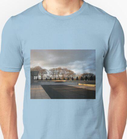 Temple Forecourt At Sundown T-Shirt