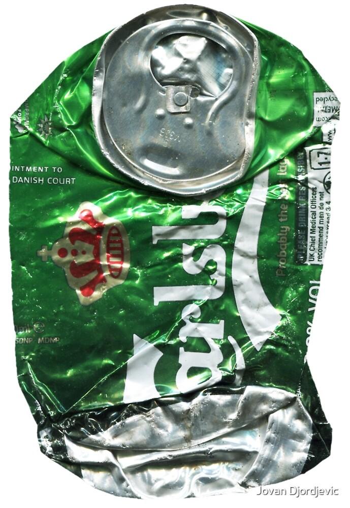 Carlsberg, Crushed Tin by Jovan Djordjevic