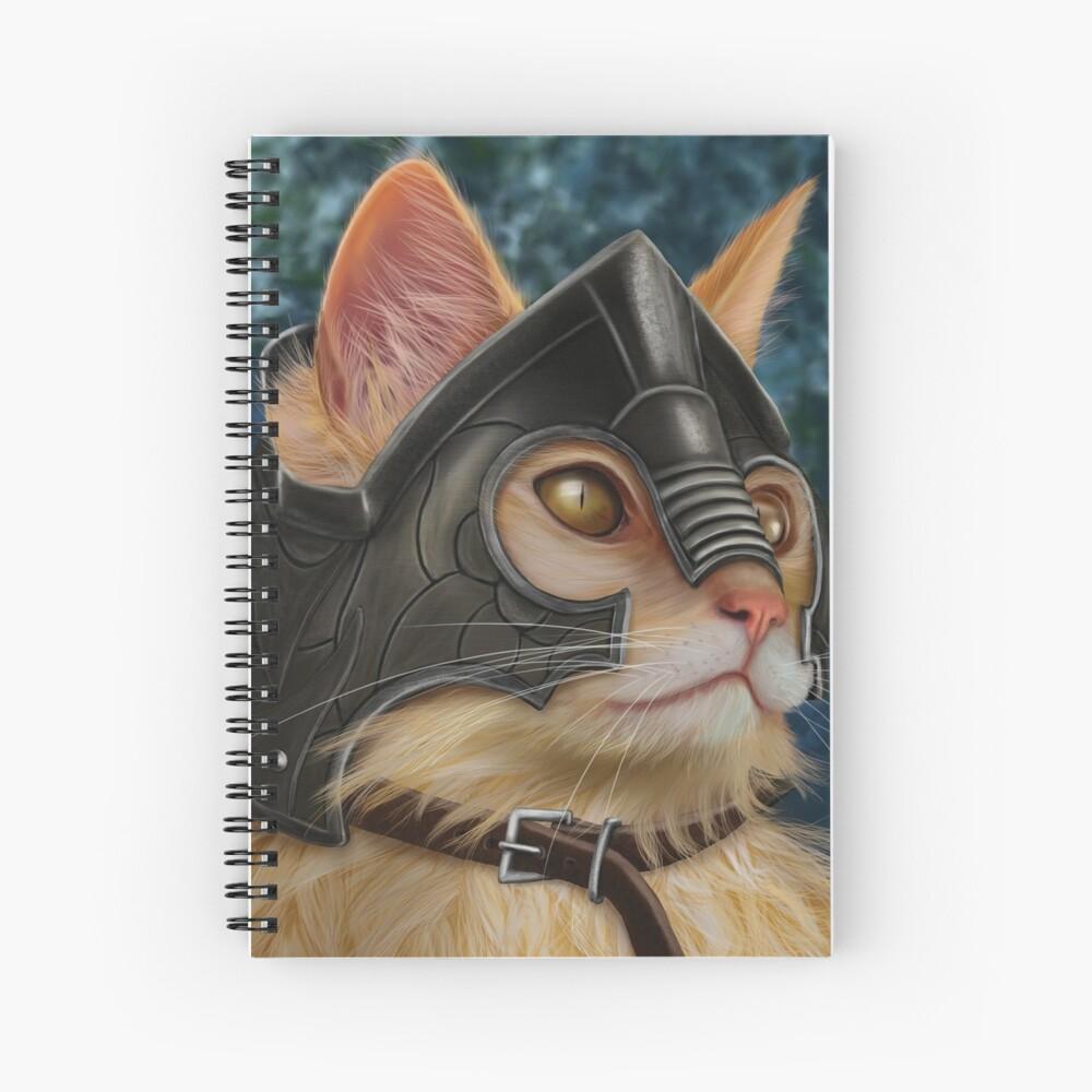 Warrior Cat Spiral Notebook