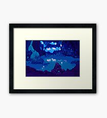 Wyndia: Plummet Caverns Location Painting Framed Print