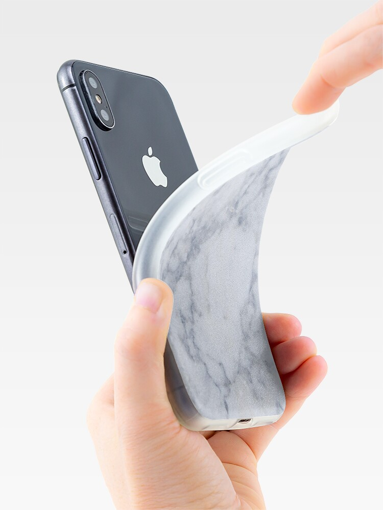 Alternate view of Marble iPhone Case iPhone Case & Cover
