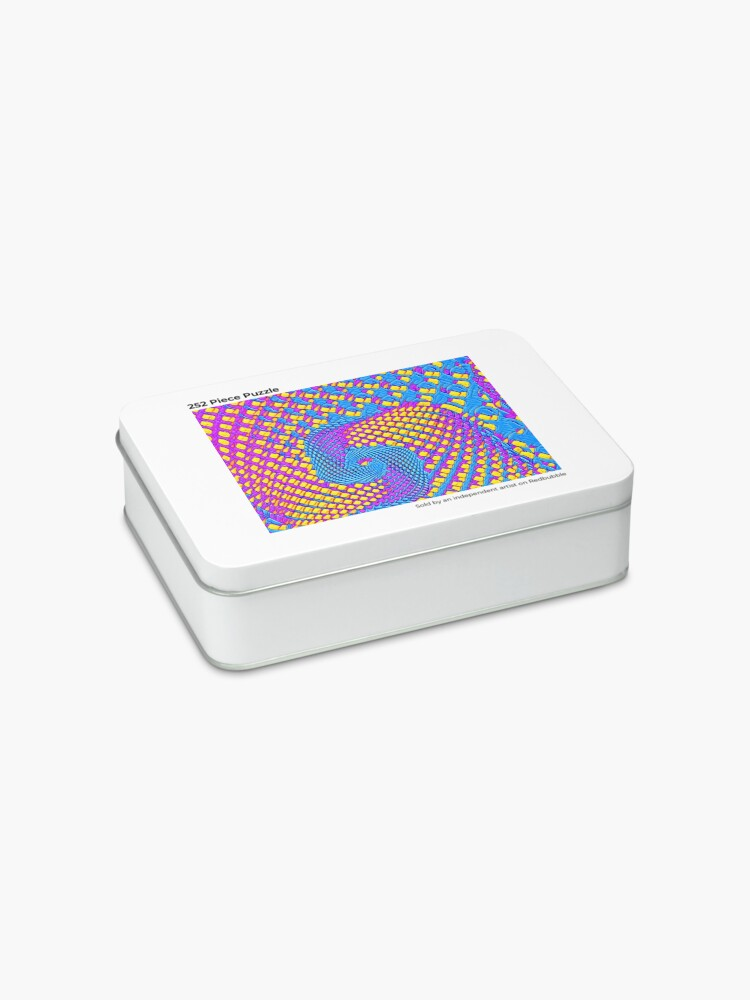 Alternate view of Cubism turbulence Jigsaw Puzzle