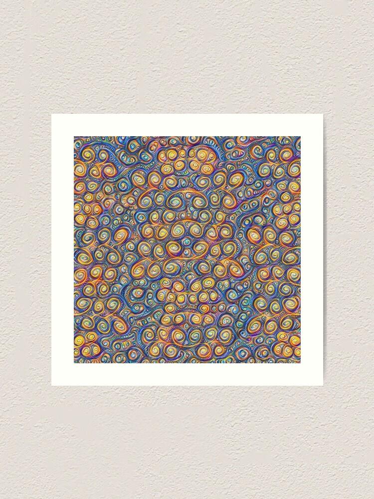 Alternate view of Grapes #DeepDream #Art Art Print