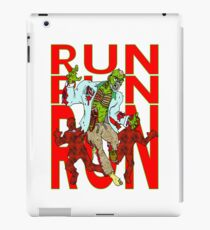 Zombies, Runnnn iPad Case/Skin