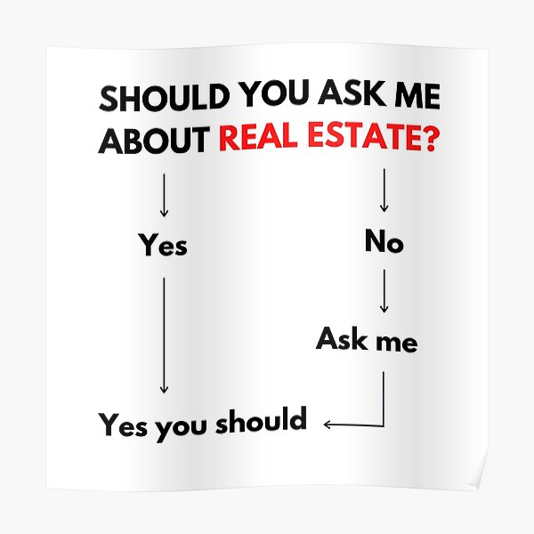 You Should Talk To Me About Real Estate, Home Buying and Home Selling  Poster