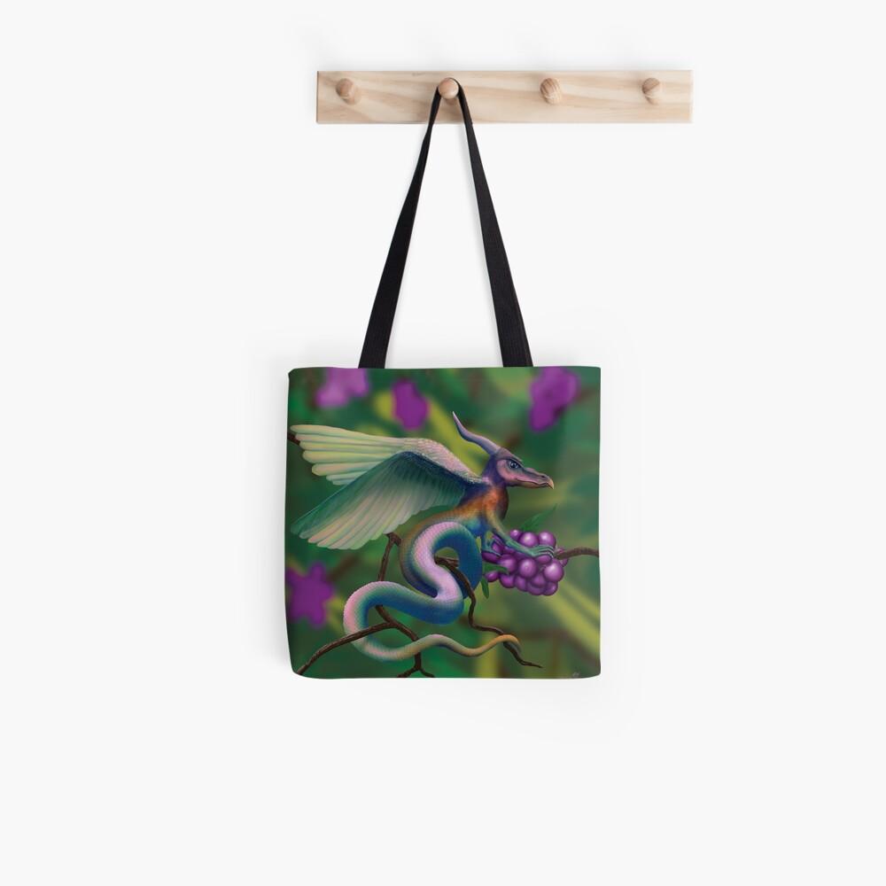 Dragonberry Drake Tote Bag