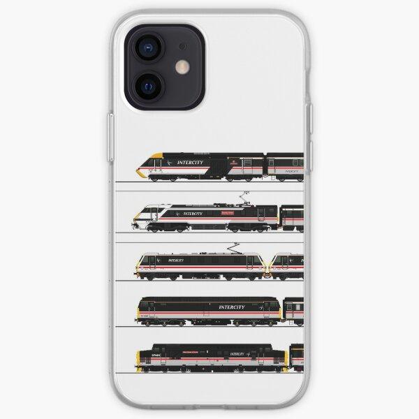 BRITISH RAIL INTERCITY TRAINS iPhone Soft Case