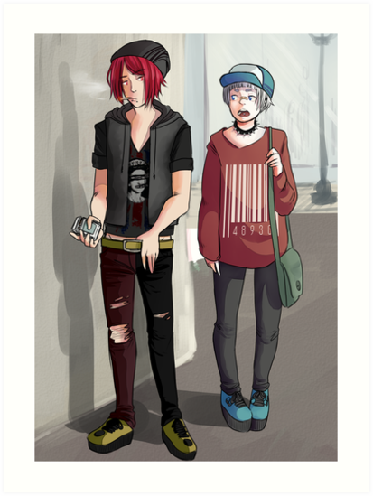 wannabe punk rintori by otakumermaid