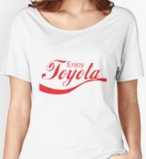 Enjoy Toyota JDM Shirt Women's Relaxed Fit T-Shirt