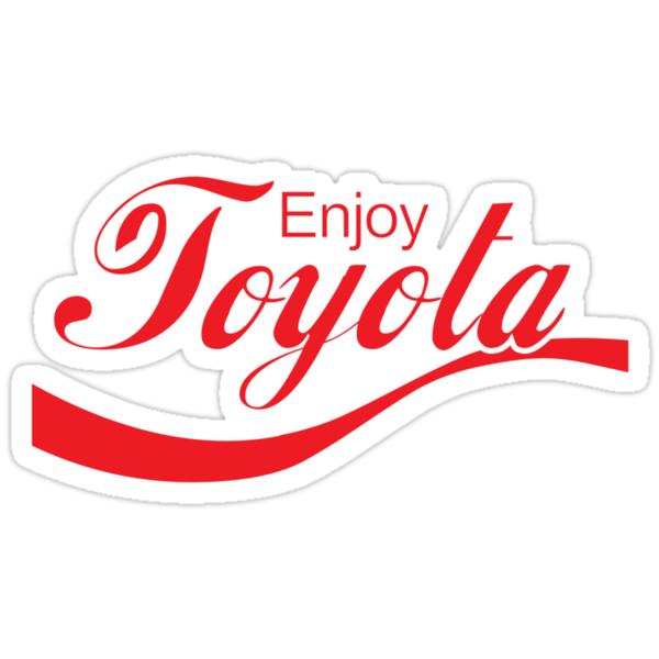Quot Enjoy Toyota Jdm Shirt Quot Stickers By Mikekunak Redbubble