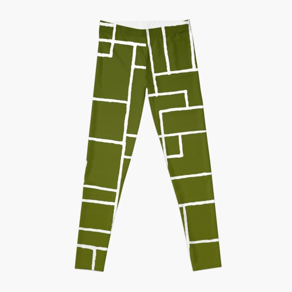 Green Line Leggings
