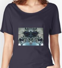 Blue Butterfly Lace II Women's Relaxed Fit T-Shirt