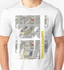 Keep Hosier Real - Shadows across Fed Square T-Shirt