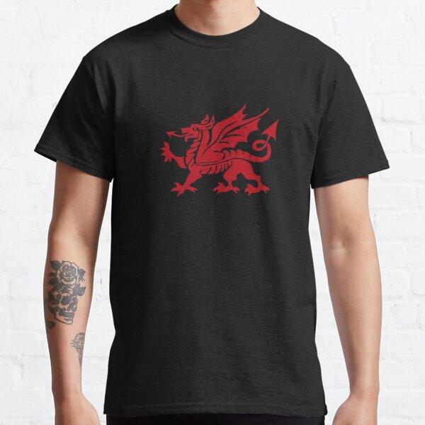 Y Ddraig Goch, Welsh Dragon Large Classic T-Shirt