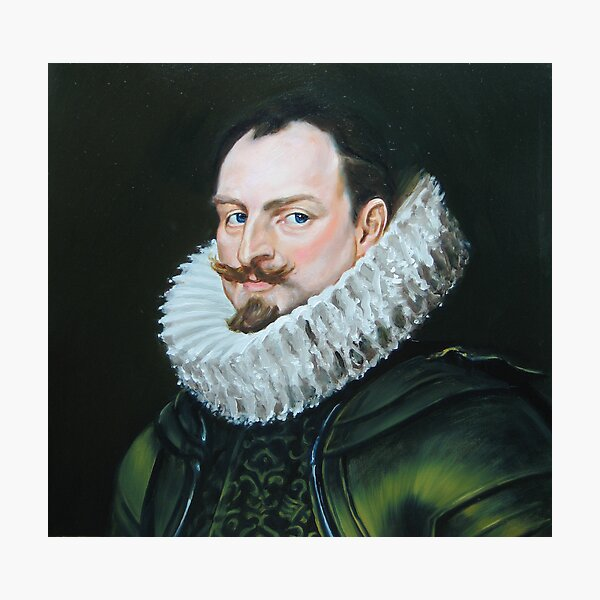 renaissance nobleman after vandyck Photographic Print