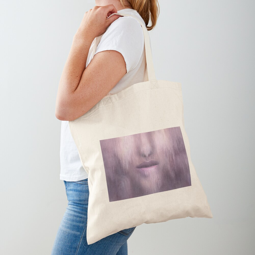 """""""Succumb"""" (tears, sadness, giving up) painting - """"Smile"""" Fine Art series Tote Bag"""