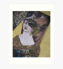 even though we were two women, we often saw out of the same eye Art Print