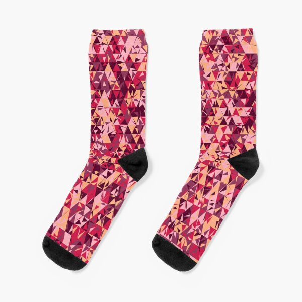 Dulled Air Ioniser (reds and pinks) Socks