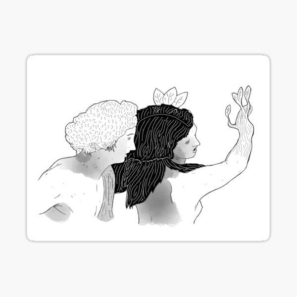 Apollo & Dafne Sticker