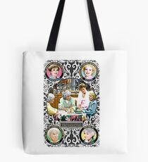 Golden Girls. Blanche, Rose, Dorothy and Sophia. Tote Bag