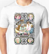 Golden Girls. Blanche, Rose, Dorothy and Sophia. T-Shirt