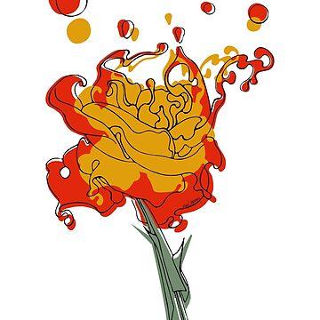 Lava Rose by Roesbery