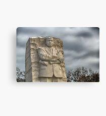 MLK Memorial after snowstorm Canvas Print