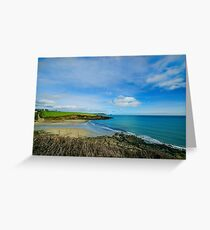 Porthcurnik Beach Cornwall Greeting Card
