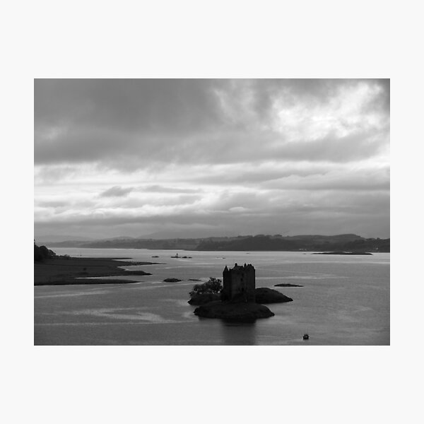 Floating Castle Photographic Print
