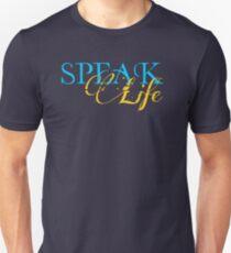Camiseta ajustada Hablar la vida