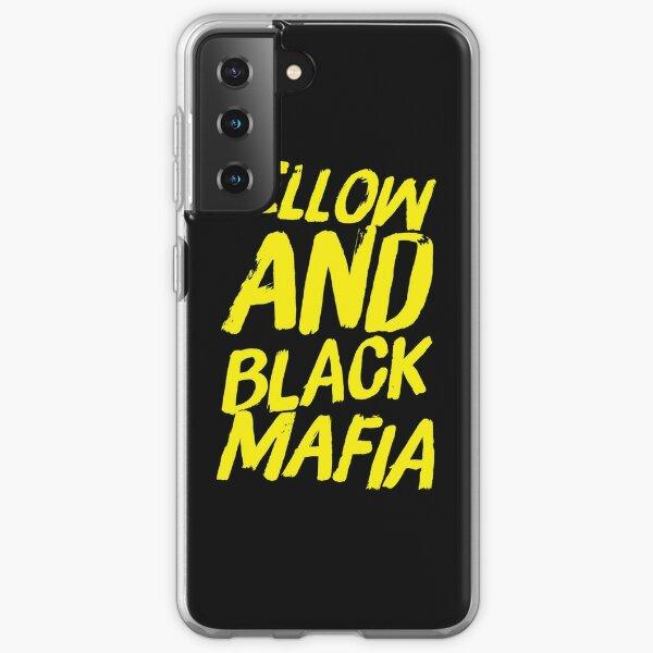 mafia amarilla y negra Funda blanda para Samsung Galaxy