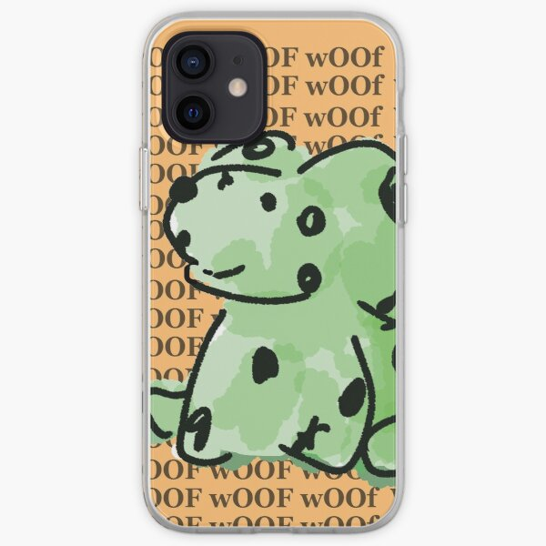 Cheerful Green Zombie Dog iPhone Soft Case
