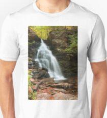 Early Autumn Morning Below Ozone Falls Unisex T-Shirt
