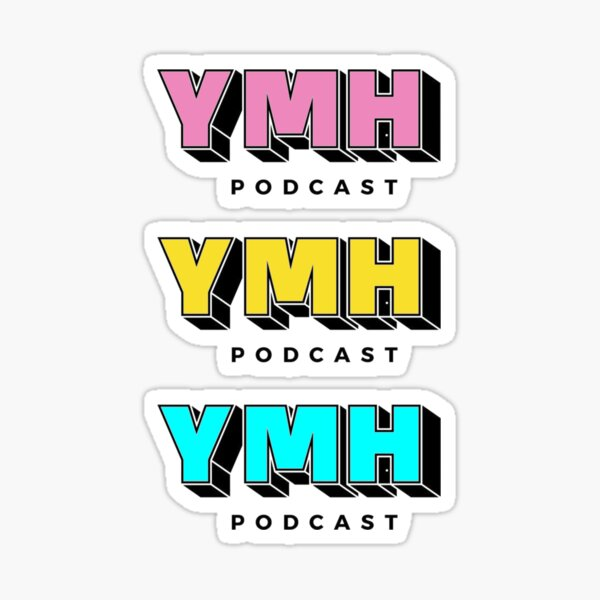 Your Mom's House Podcast Customized Logo Sticker