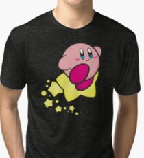 Ride on Kirby Tri-blend T-Shirt
