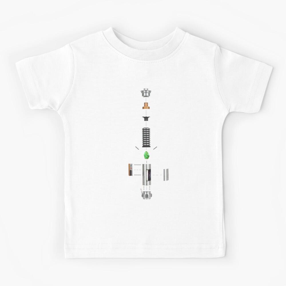 Lightsaber Cross-section Kids T-Shirt