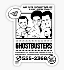 Ghostbusters Sticker
