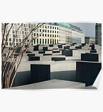 Memorial to the Murdered Jews Poster