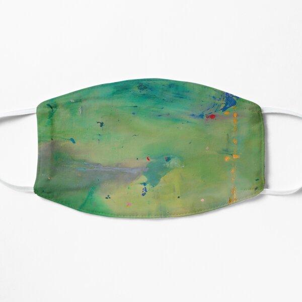 Helen Frankenthaler - A Green Thought in a Green Shade - Modern Abstract Art Mask
